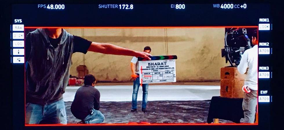Salman Khan has begun shooting for Ali Abbas Zafar's Bharat (Source: Ali Abbas Zafar twitter)