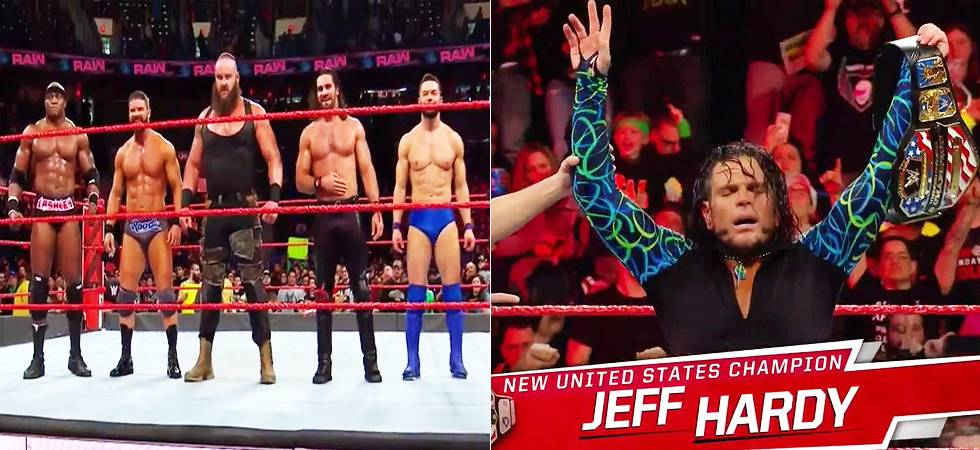WWE RAW results: Superstar shake-up begins; Jeff hardy BECOMES new US champion (Source- WWE's Twitter)