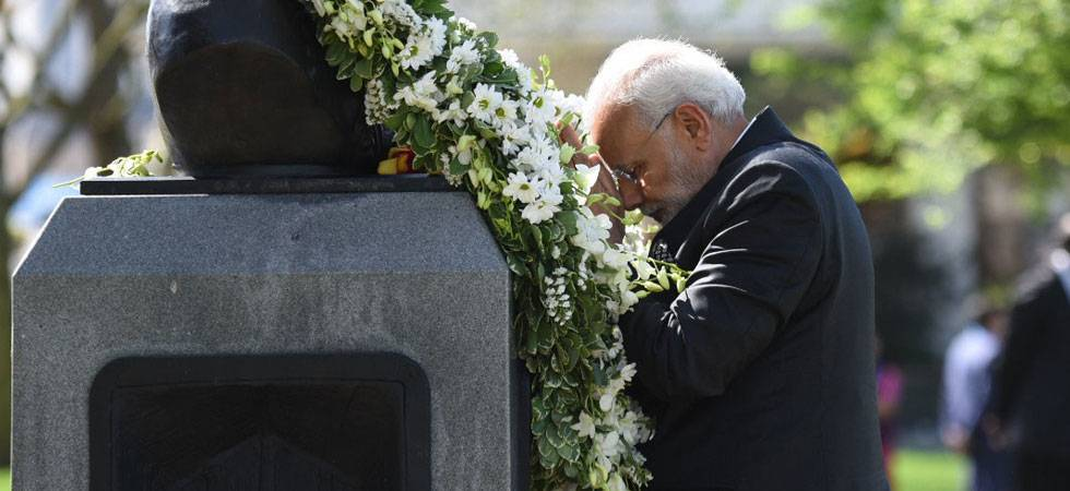 Bharat ki Baat: Modi addresses Indian diaspora at Westminster (Image: IANS)
