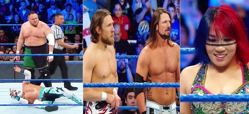 WWE Smackdown Live results: AJ Styles-Daniel Bryan TEAM up (Source-WWE's Twitter)