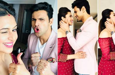 Divyanka Tripathi- Vivek Dahiya look STUNNING in black, give us MAJOR fashion goals (see pics)