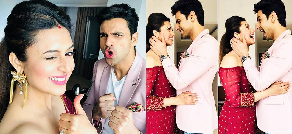 Divyanka Tripathi- Vivek Dahiya look STUNNING in black, give us MAJOR fashion goals (Source- Instagram)