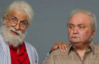 102 Not Out: Rishi Kapoor is all praises for Big B, calls him a 'natural actor'