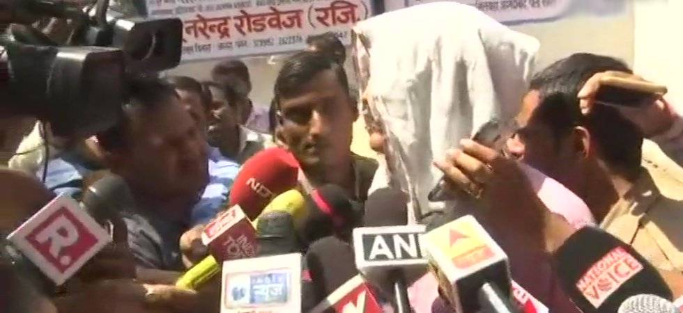 Father of the rape survivor speaking to media after Asaram's conviction (Photo Courtesy: ANI)