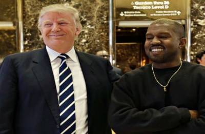 Kanye West and 'brother' Donald Trump share 'dragon energy' in a series of tweets
