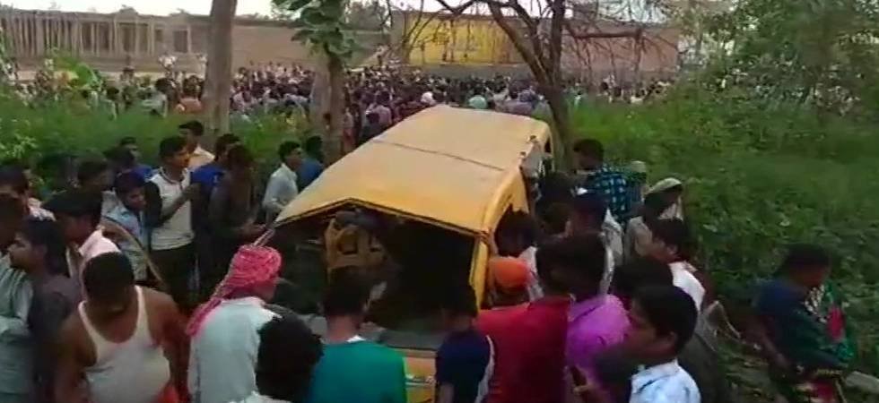 Uttar Pradesh: 13 children killed as train crashes into school bus in Kushinagar