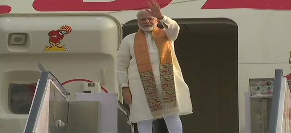 Prime Minister Narendra Modi on Thursday left for China to attend an informal summit (Source: ANI twitter)