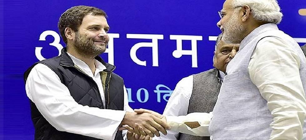 PM Narendra Modi calls Rahul Gandhi to enquire about his mid-air scare (Photo Source: PTI)