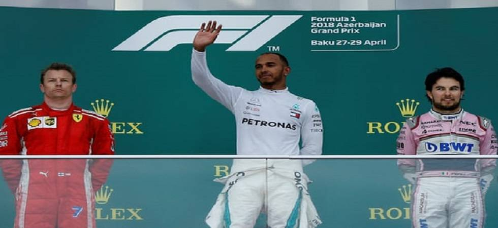 Lewis Hamilton won the Azerbaijan Grand Prix (Source: PTI)