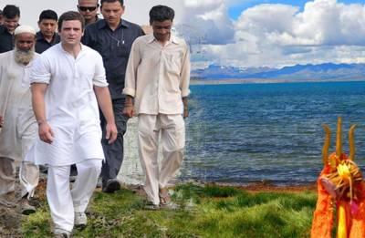 'Scared' by flight snag, Rahul Gandhi to visit Kailash Mansarovar after Karnataka polls