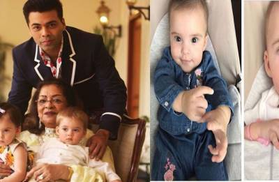 Simply adorable! Karan Johar's toddlers Yash, Roohi will steal your hearts (see pic)