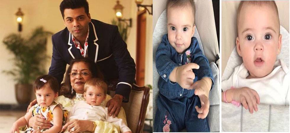 Simply adorable! Karan Johar's toddlers Yash, Roohi will steal your