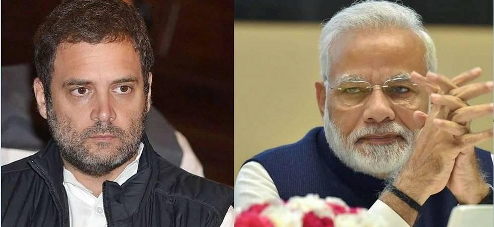 PM Modi takes a dig at Rahul Gandhi over '15 minutes' dare (File Photo)