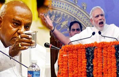 Modi invoking me does not mean JDS-BJP 'gathbandhan', says HD Deve Gowda