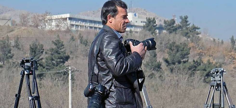 AFP photographer Shah Marai, who was among the 25 people killed in Kabul blasts on April 30, 2018 (Ctsy: democracynow.org)