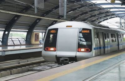 Young woman, man held with bullets at Delhi Metro Station