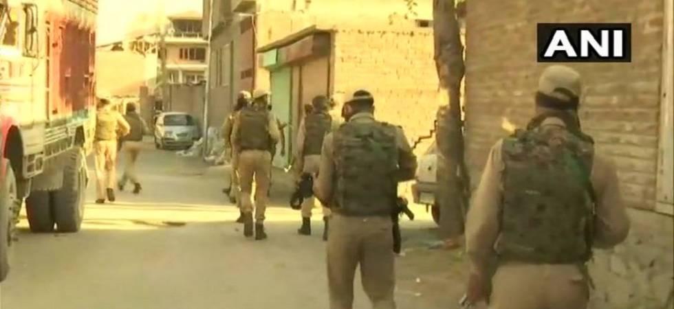 LIVE: Security forces gun down one terrorist in Srinagar's Chattabal (Photo Source: ANI)