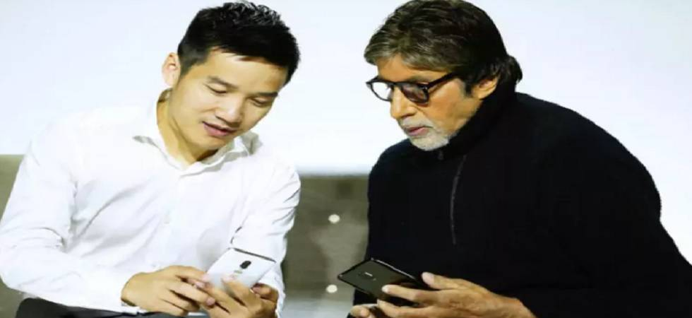 Amitabh Bachchan leaks OnePlus 6 design on Twitter ahead of its launch (Source - Twitter)