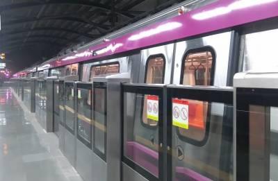 Kalkaji Mandir-Janakpuri West section of Delhi Metro's Magenta Line to open next week