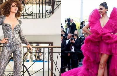 Cannes 2018: Kangana Ranaut, Deepika Padukone go bold for red carpet