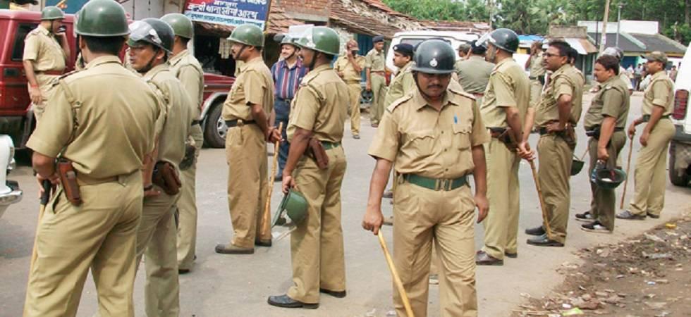 Karnataka police work overtime to ensure incident free polls (Source: PTI)