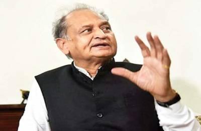 Ashok Gehlot targets BJP over fuel price hike amid tussle for power in Karnataka