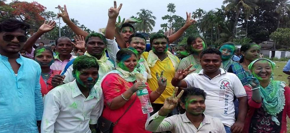 TMC is hoping for a clean sweep in the Zila Parishads with seat expectancy of around 75 per cent