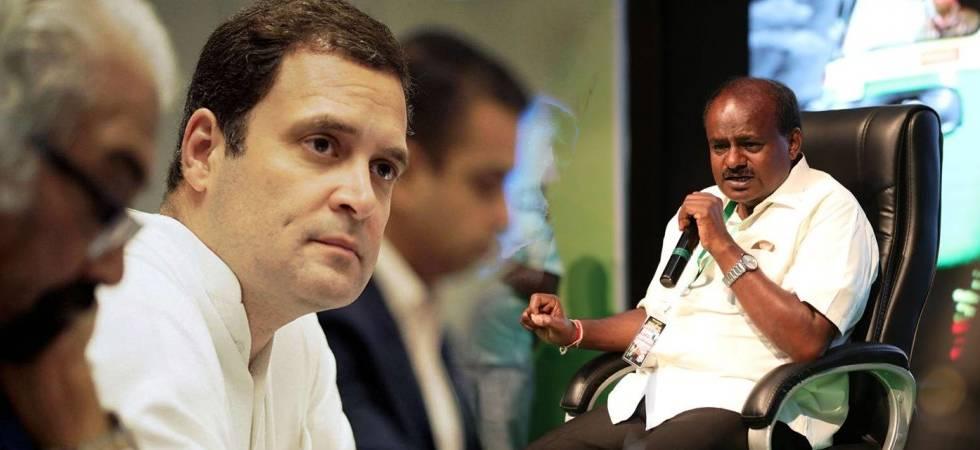 Kumaraswamy to meet Rahul Gandhi in Delhi tomorrow, cabinet discussion on agenda