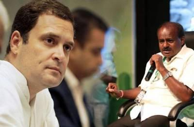 Kumaraswamy to meet Rahul, Sonia Gandhi in Delhi Today; cabinet discussion on agenda