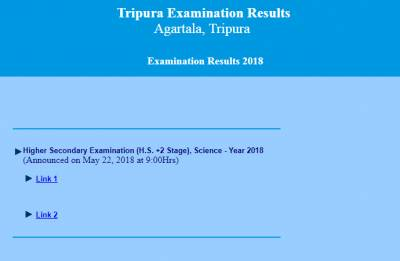 TBSE 12th Science Result 2018 declared on tripuraresults.nic.in; here is how to check