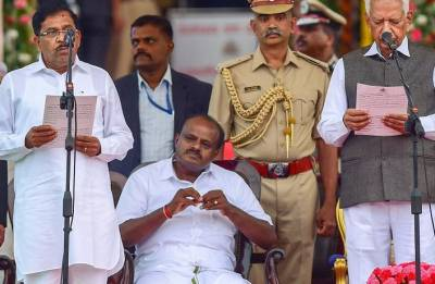 Kumaraswamy proves pollsters wrong, becomes king instead of kingmaker
