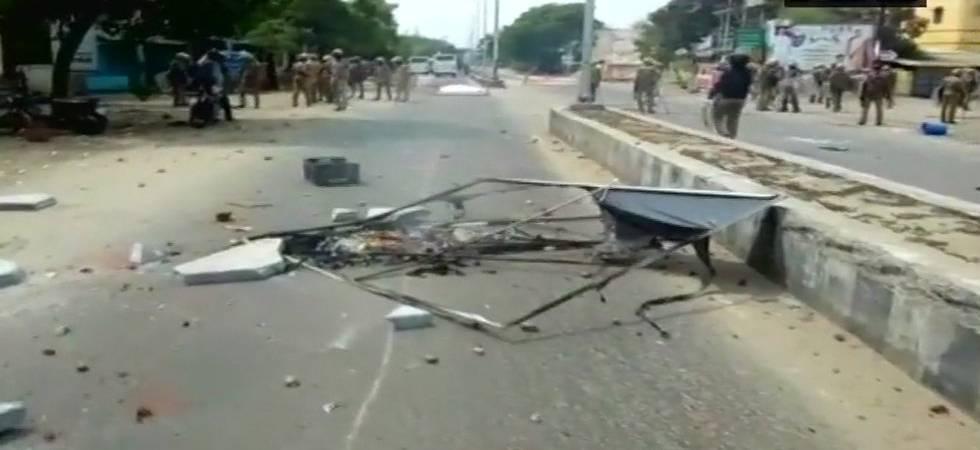 Sterlite protests LIVE: One killed, 3 injured in fresh police firing in Tuticorin (ANI Photo)