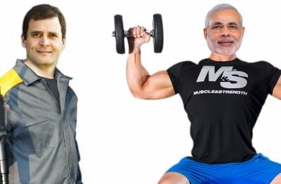 Forgo fitness challenge, accept fuel challenge: Rahul Gandhi dares PM Modi