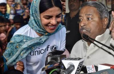 BJP MP Vinay Katiyar spews venom against Priyanka Chopra for visiting Rohingya refugees