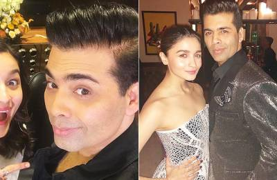 Raazi actress Alia Bhatt shares HEARTFELT message for birthday boy Karan Johar (see pic)