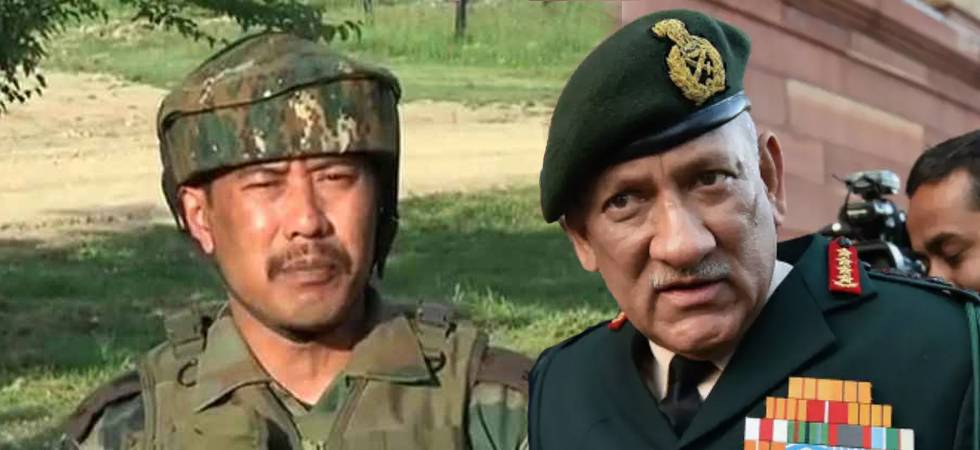 'Exemplary punishment' to Major Gogoi if found guilty, says Army chief Bipin Rawat