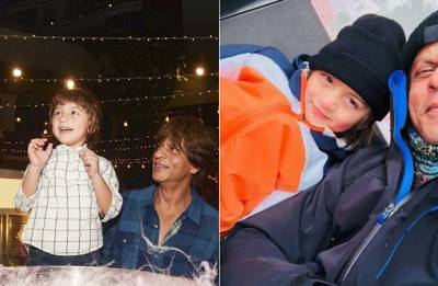 Shah Rukh Khan has a HEARTWARMING message for his son AbRam as he turned 5 (see pic)