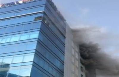 Fire breaks out in Mumbai's Technic Plus commercial complex