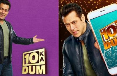 Dus Ka Dum 3 host Salman Khan says he was scared to show real self on TV