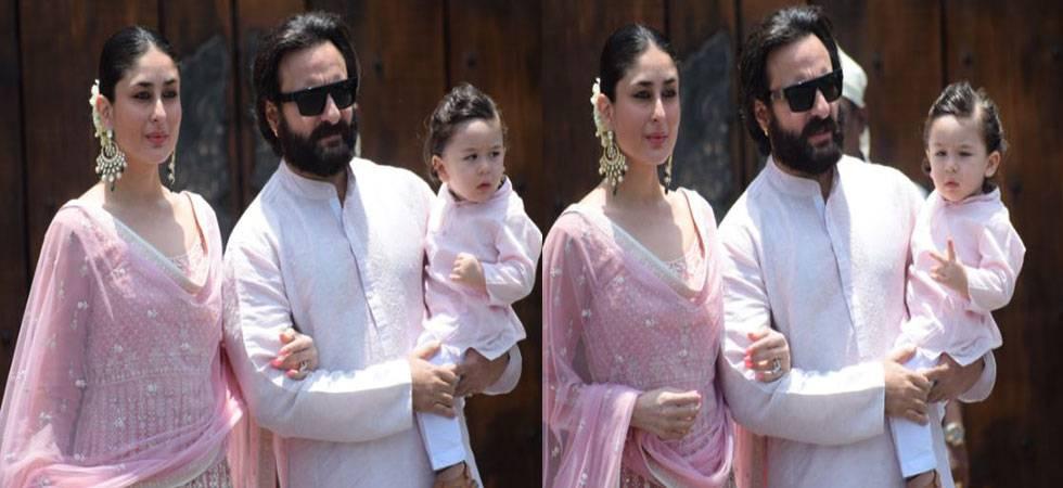 Taimur calls me 'abba'; has learned to say baby, gum: Saif Ali Khan (Source-IANS)