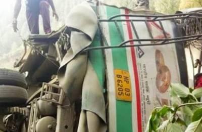 Himachal Pradesh: Ten people killed, 21 injured as bus falls into gorge near Shimla