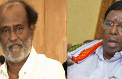 Rajnikanth under guidance of 'some persons,' should withdraw his views, says V Narayanasamy