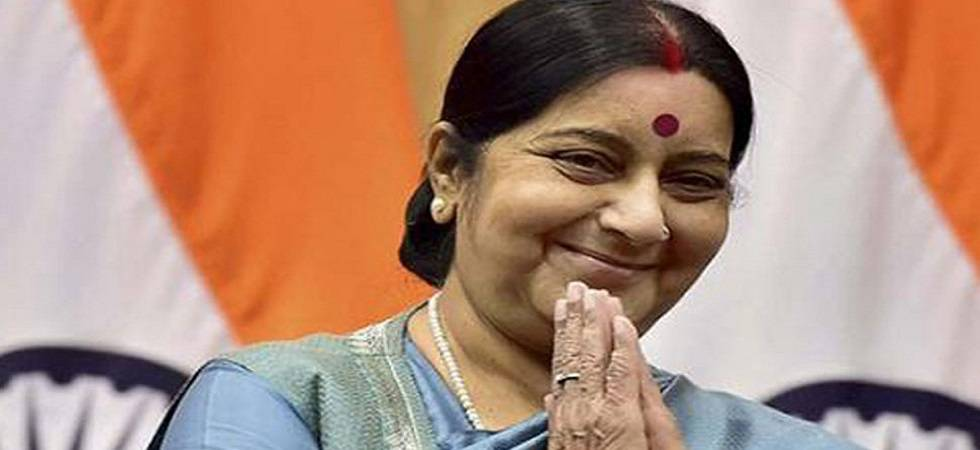 Sushma Swaraj leaves for South Africa on 5-day visit, to attend BRICS, IBSA