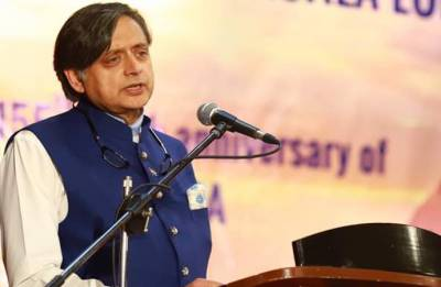 Facing trial in wife Sunanda Pushkar's death,  Shashi Tharoor terms charges 'preposterous and baseless'