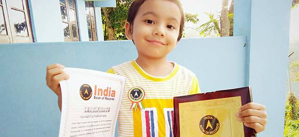 Meet Assam's Ayan Gogoi Gohain - the 'Youngest Author of India' (Pic: India Book of Records)