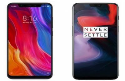 Xioami Mi 8 vs OnePlus 6: Features, specs comparison