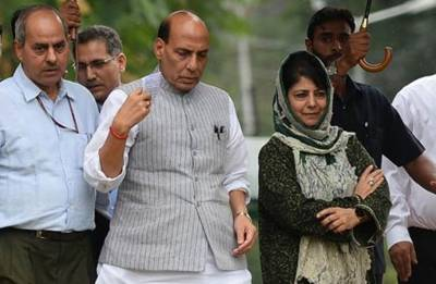 Rajnath Singh on two-day Jammu and Kashmir visit, to review security ahead of Amarnath Yatra