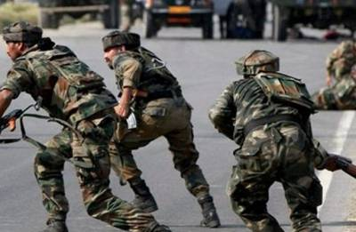 Militants attack Army in Keran sector amid Rajnath Singh's Kashmir visit; two soldiers injured