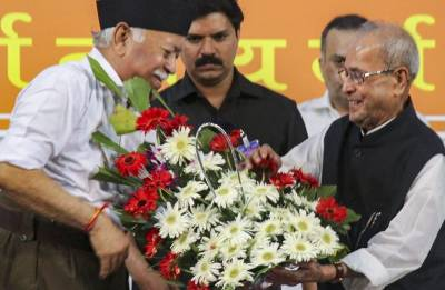 Nagpur exercise – Pranab-RSS move to dampen Congress' spirits