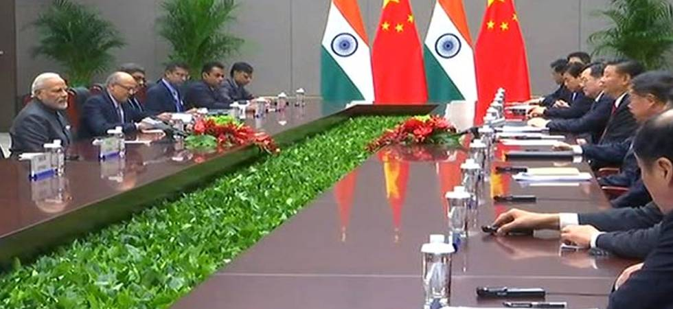 PM Modi holds bilateral talks with Chinese President Xi Jinping in Qingdao, China (Photo: ANI)